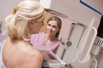 Oct 16 Mammogram