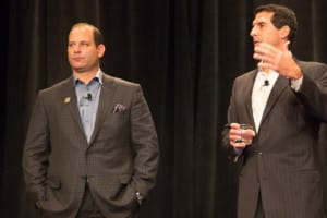 Ben Breier, President and COO, Kindred Healthcare (left) and Paul Diaz, CEO, Kindred Healthcare
