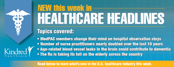 Healthcare Headlines Week of January 19, 2015