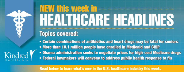 Healthcare Headlines Week of February 2, 2015