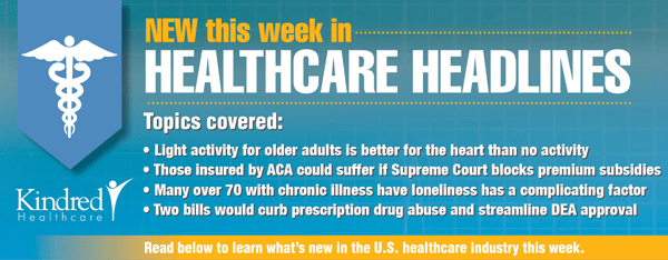 Healthcare Headlines Week of February 16, 2015
