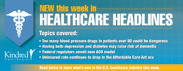Healthcare Headlines Week of April 13, 2015