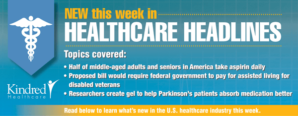 Healthcare Headlines Week of April 27, 2015
