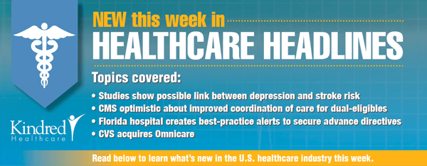 Healthcare Headlines Week of May 18, 2015