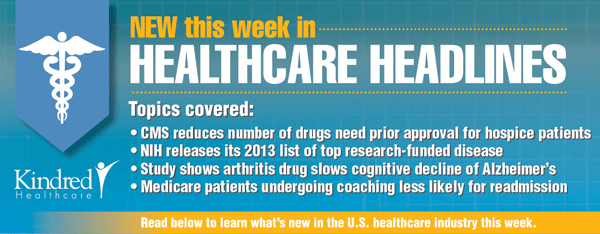 Healthcare Headlines Week of July 21, 2014