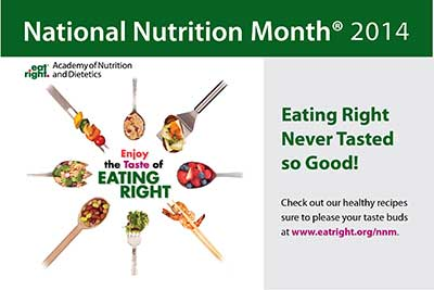 Celebrate Registered Dietitian Day