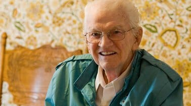 Resource Library Hospice image of smiling older gentleman