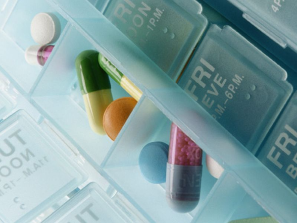Image of a pill organizer