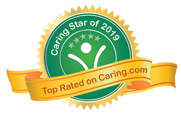 Badge Email Caring Stars 2019