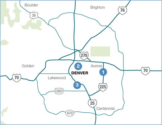 Denver Market Map